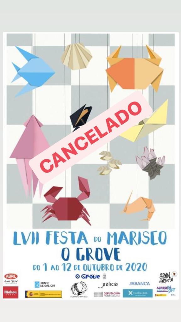 Cartel Festa Do Marisco 2019